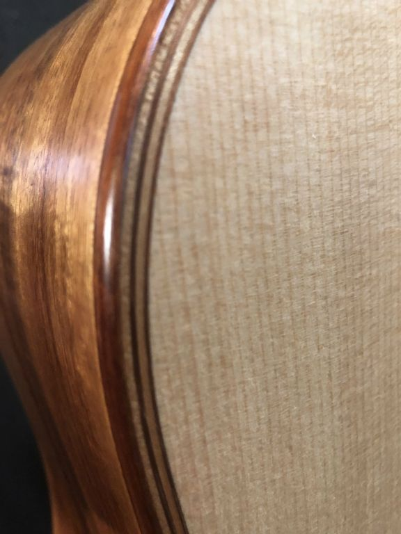New Guinea Rosewood and Red Maple