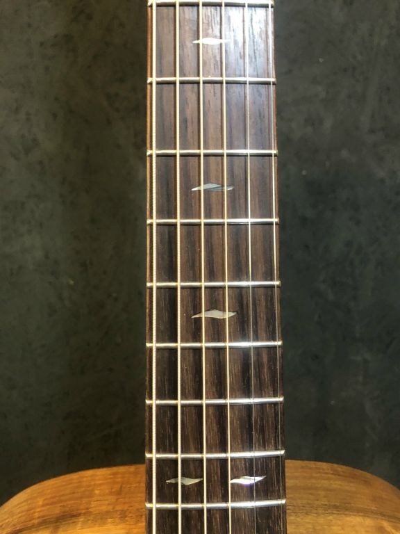Rosewood with Abalone Fret Marker Inlays